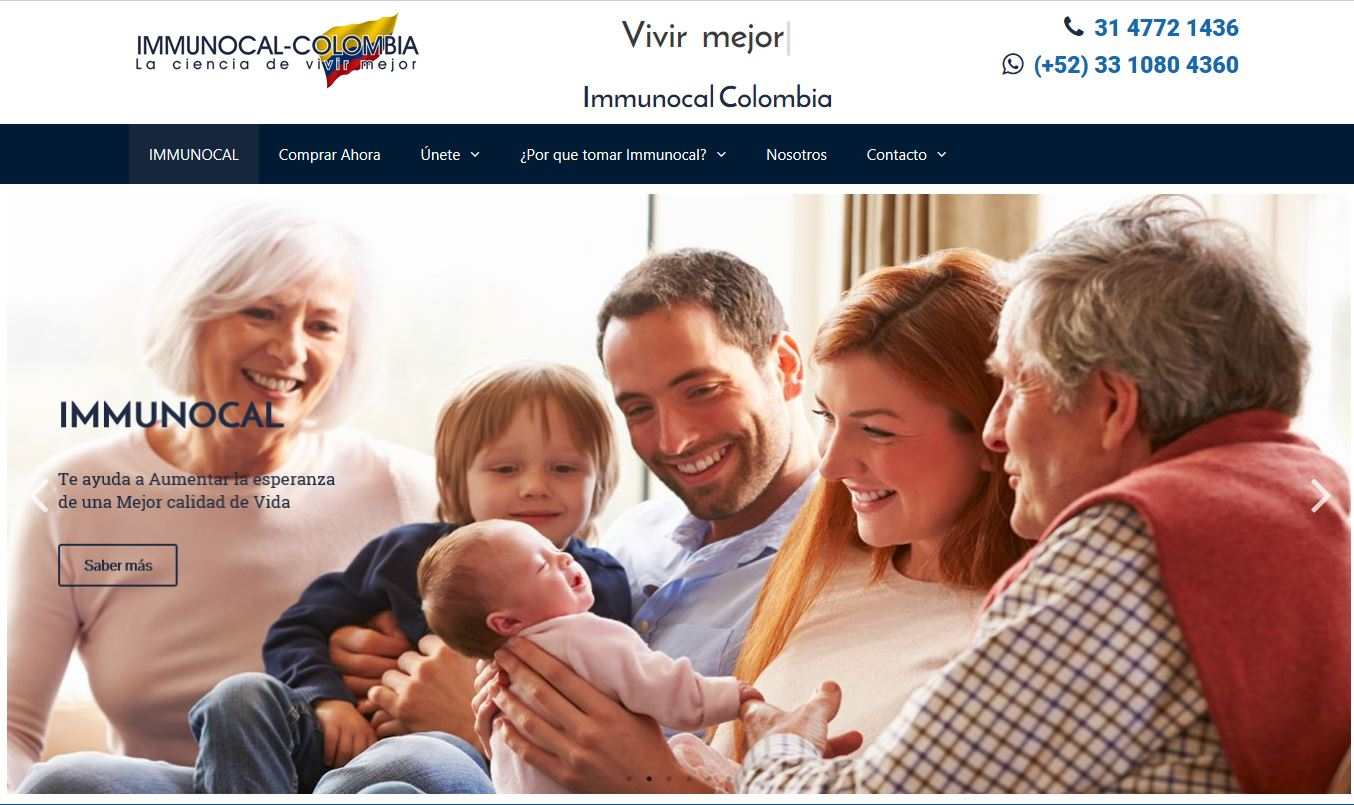 immunocal colombia